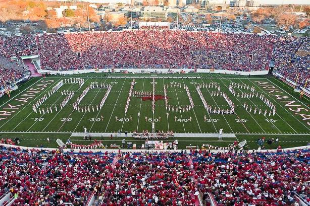 Football—University of Arkansas vs. Louisiana State University