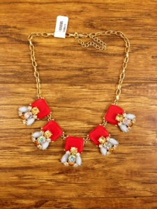 Statement necklace, $36.